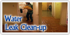 water-leak-clean-up